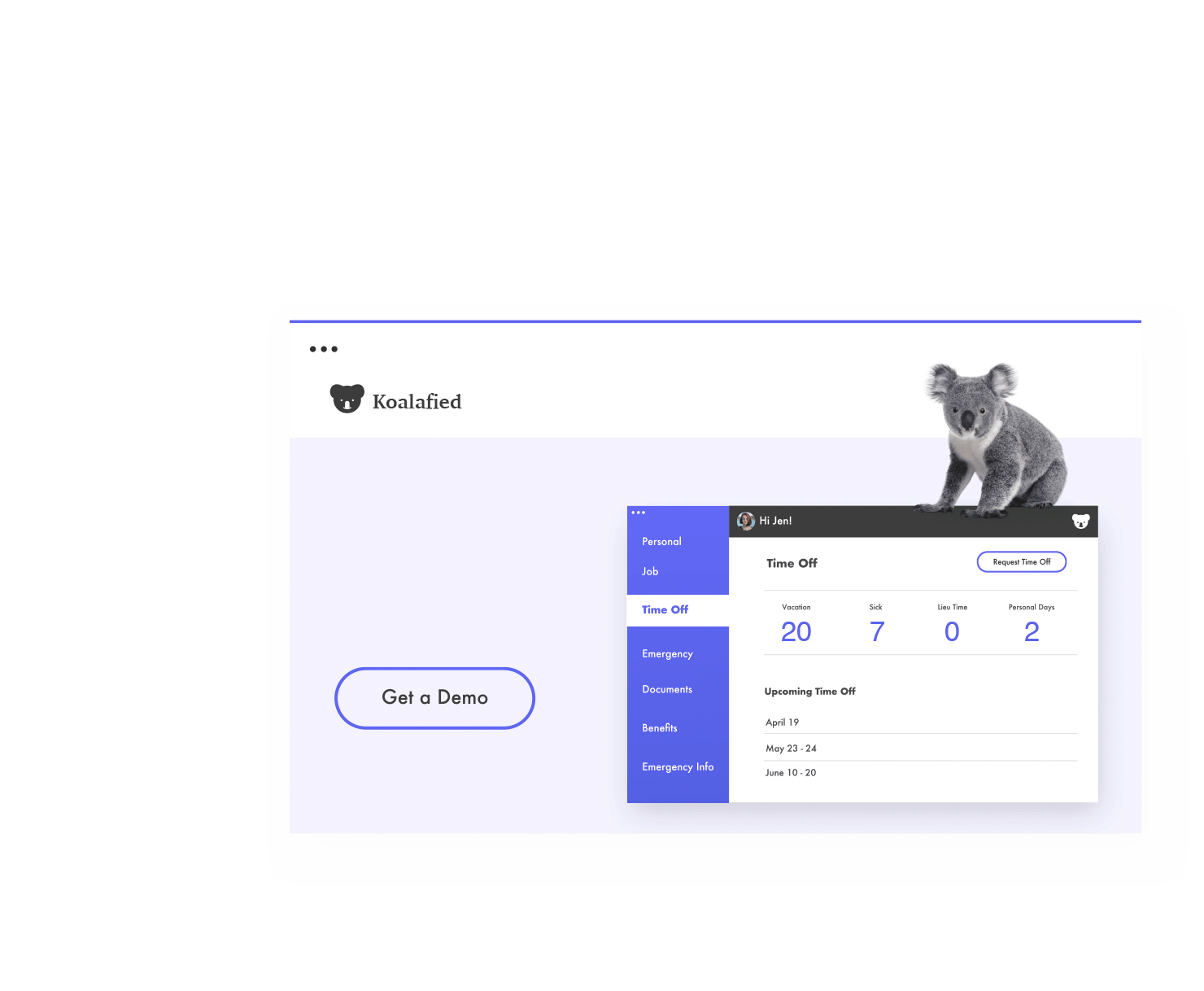 Landing Page Site