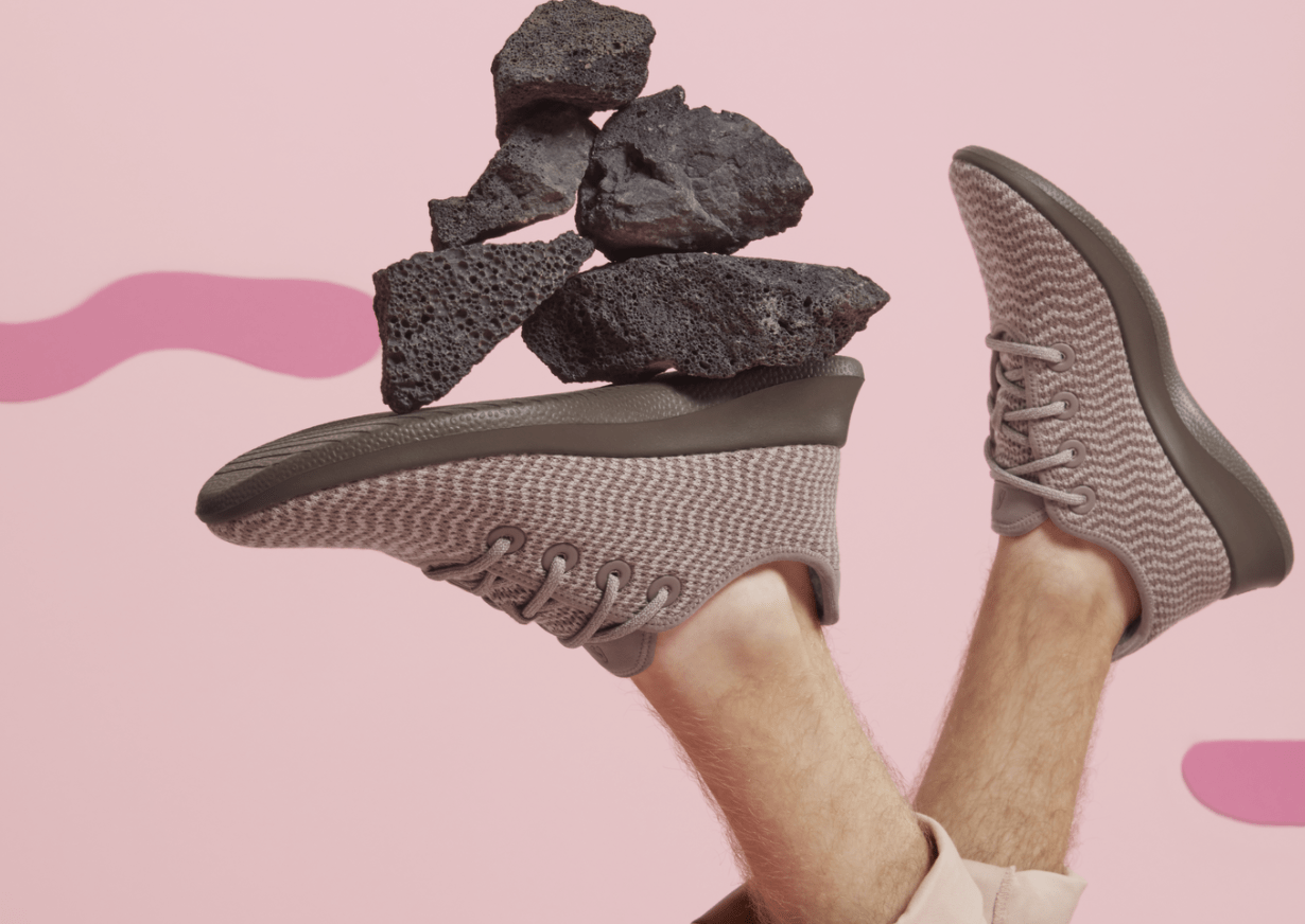 Promotion for an exclusive Allbirds shoe style launched on Black Friday weekend