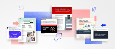 Twitter Landing Page Examples