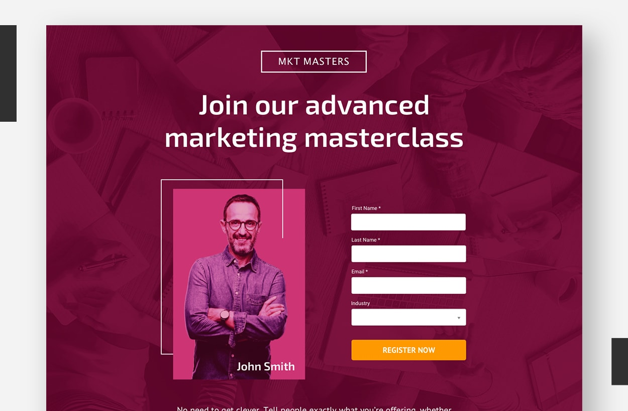 Landing Page Template Examples - Horizons (Revised)