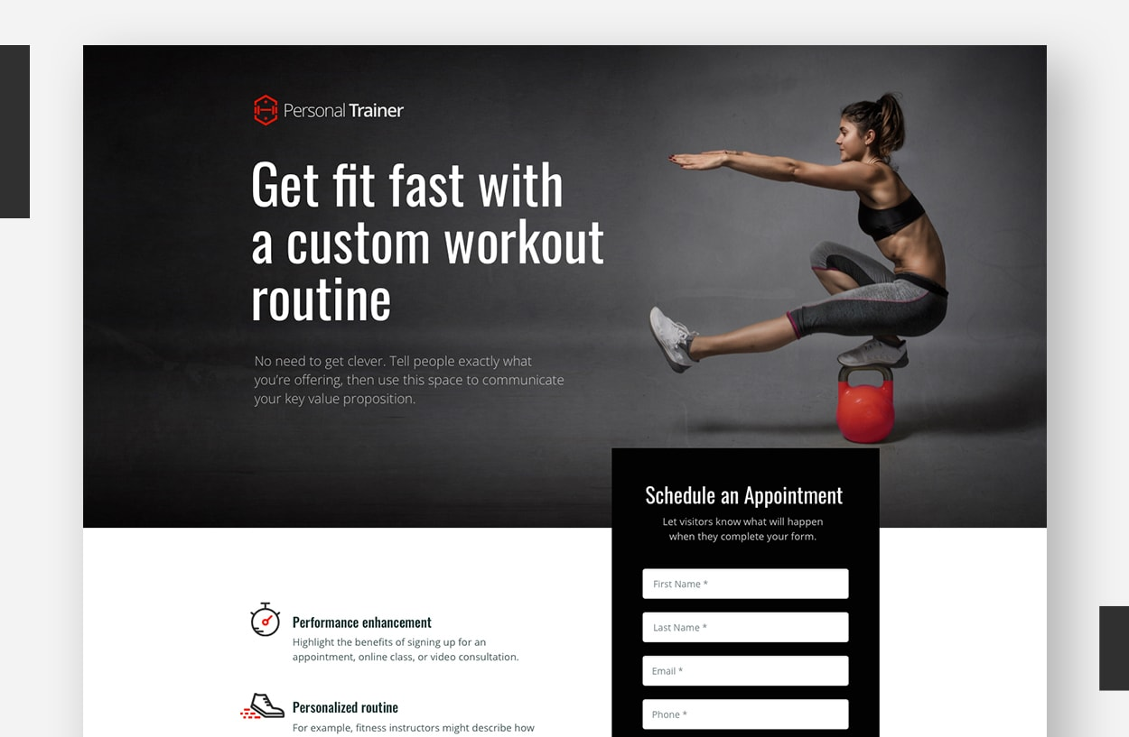 Landing Page Template Examples - Multor (Revised)
