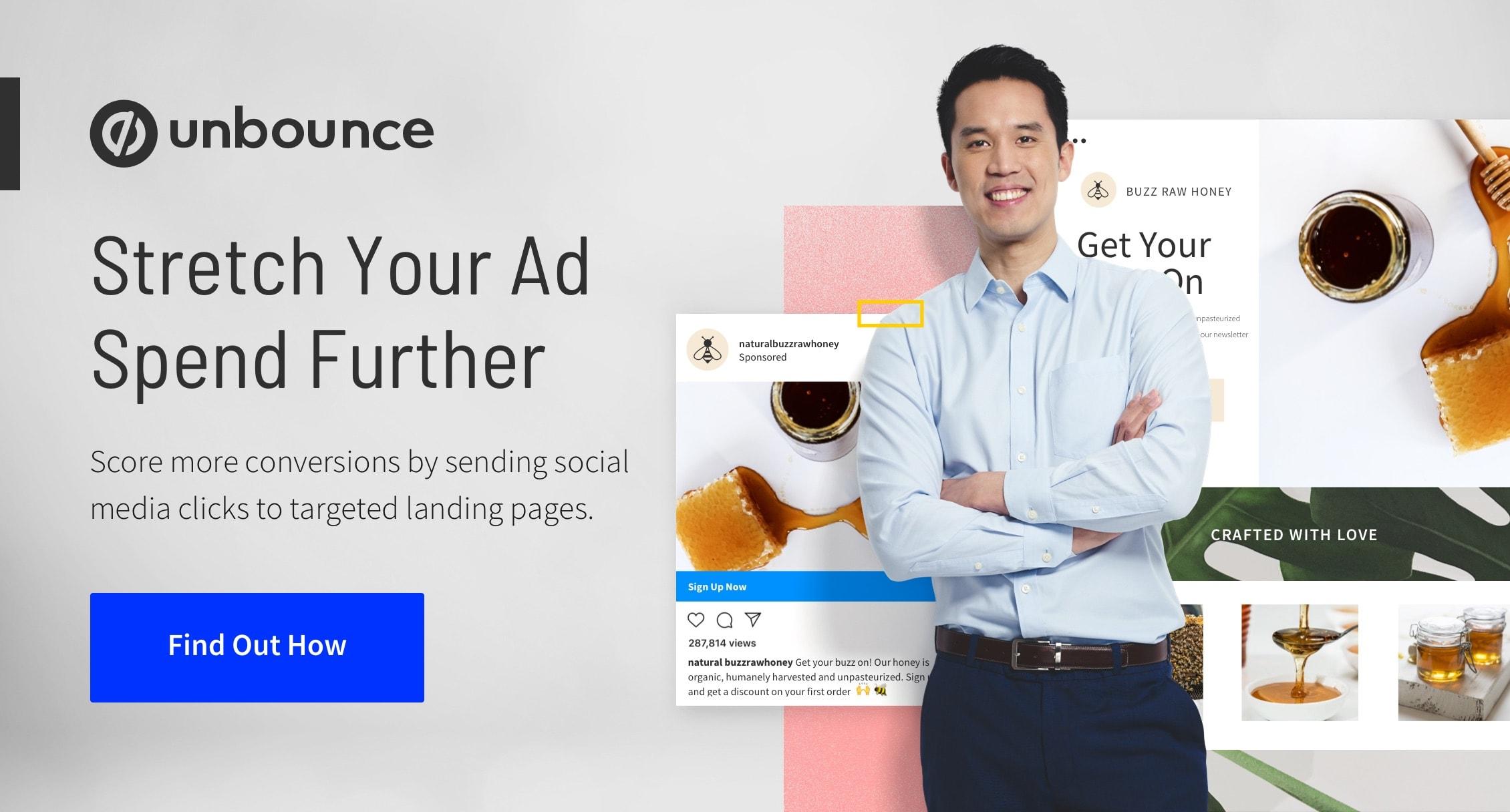 Landing Pages with Social Media