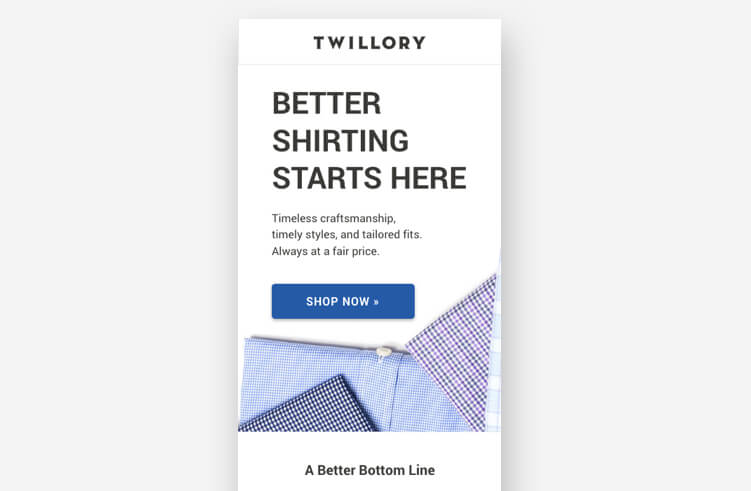 High-Converting Landing Page: Twillory Mobile
